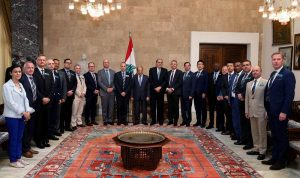 عون: نستطيع حل ملف النازحين مع سوريا