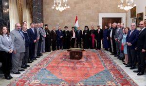 عون: لن يعود للبنان وجود بحال بقاء النازحين فيه