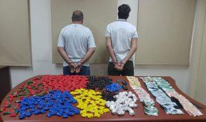 توقيف مروجي مخدرات في بيروت وجبل لبنان
