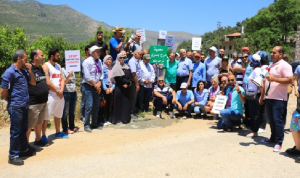 المعتصمون ضد إقامة سد بسري يعلنون المنطقة محمية طبيعية