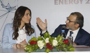 """دانييلا رحمة سفيرة لـ""""الطاقة الاغترابية"""": لبنان سيعطيكم (صور)"""