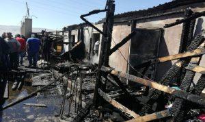 وفاة رضيع سوري بحريق في الفرزل