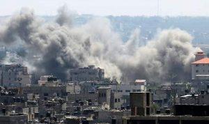 صواريخ من غزة على إسرائيل.. وتل أبيب ترد بعنف! (بالفيديو والصور)