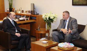 جعجع بحث مع كوبيش في التطورات اللبنانية والإقليمية