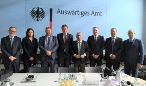 افرام من المانيا: مباحثات حول مكافحة الفساد والتكنولوجيا الرقمية