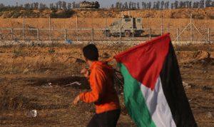 إصابة 50 متظاهرا فلسطينيا شرقي قطاع غزة