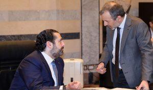 باسيل للحريري: ما تتفق عليه مع عون أوافق عليه