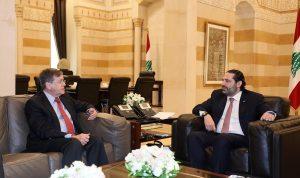 ساترفيلد يبلغ المسؤولين اللبنانيين قلق واشنطن!