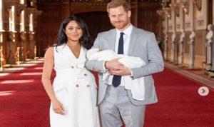 الصور الأولى لابن الأمير هاري وميغان ماركل