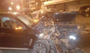 6 جرحى بحادث تصادم في حراجل