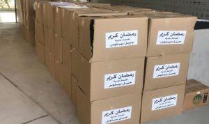 بلدية جبيل وزّعت حصصاً غذائية على العائلات المحتاجة