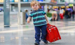 السفر مع طفلنا الصغير