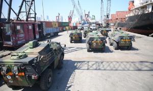 الجيش يتسلّم عتادًا عسكريًا تقدمة من فرنسا