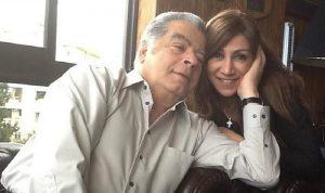 الإعلامية ميراي مزرعاني تفقد زوجها