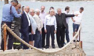 خير تفقد التسرب النفطي على شاطىء جدرا: التحقيق مستمر