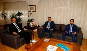 داوود عرض ومسؤول في وزارة السياحة العراقية العلاقات الثنائية