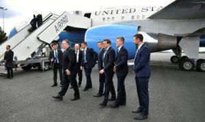 بومبيو يصل بغداد في زيارة سرية
