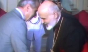 """البطريرك صفير والرئيس معوض.. """"نضال مشترك كرمال الوطن"""" (بالفيديو)"""