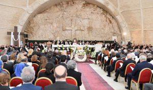 لبنان والكنيسة ودّعا المطران رولان أبو جودة