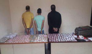 شقة في برج حمود لتخزين المخدرات وتوقيف 3 مروجين