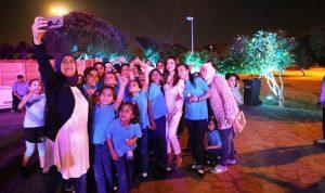 خيرالله الصفدي شاركت بوجبة إفطار مع 250 طفلا