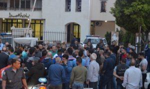 اعتصام في صيدا احتجاجا على قرار منع سير الدراجات