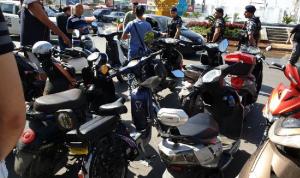 اعتصام ثان في صيدا احتجاجًا على قرار منع سير الدراجات الكهربائية
