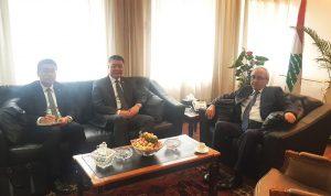 سرحان عرض وسفير الصين تفعيل العلاقات قضائيا
