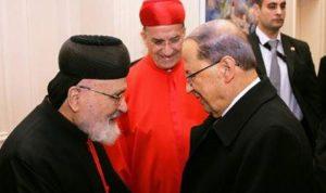 عون نعى البطريرك صفير: سيبقى معلماً بارزاً في ضمير الوطن