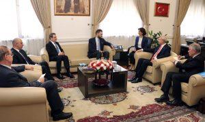 سلسلة لقاءات لتيمور جنبلاط في تركيا