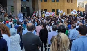 """سجال في """"اللبنانية"""": من يقرر مصير الإضراب؟"""