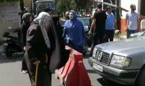 بالفيديو: قطع طريق ساحة النور في طرابلس