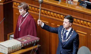 الرئيس الأوكراني يعلن حل البرلمان