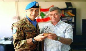 قائد اليونيفيل الجديد للقطاع الغربي في قائمقامية بنت جبيل