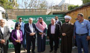 """""""مركز الملك سلمان"""" وزع 30 ألف سلة رمضانية في لبنان"""