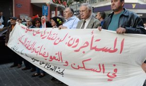 اعتصام للجنة الأهلية للمستأجرين: الفساد قائم في قانون الإيجارات