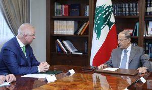 عون: نتطلع لتعزيز العلاقات مع هنغاريا