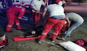 سقوط عاملة سريلانكية من مبنى في صيدا