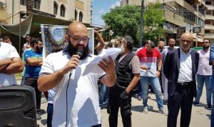 اعتصام لأهالي موقوفي أحداث عبرا طالب بالعفو العام الشامل