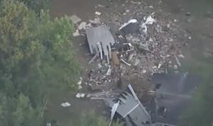 بالفيديو: طائرة تصطدم بمبنى سكني في الولايات المتحدة
