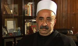 جنبلاط ينعي رئيس مؤسسة العرفان التوحيدية