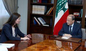 لاسن تدعو لبنان الى اتمام استراتيجية مكافحة الفساد