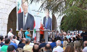 باسيل: مشكلة اللبناني أنه يفكر بالإطار الضيق والمباشر للمشاريع