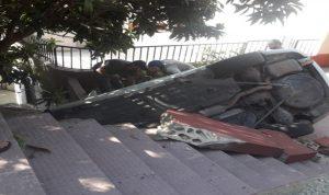 وفاة مواطنة بانقلاب سيارة في النبطية