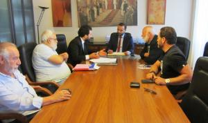داوود بحث مع لجنة مهرجان لبنان الوطني للمسرح إطلاق دورته الثانية