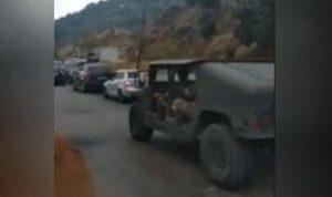 إطلاق نار وعناصر الجيش في دميت.. هذا ما فعله مرافقو وهاب! (بالفيديو)