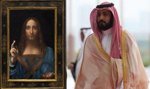 """العثور على لوحة """"المسيح المخلص"""" المفقودة على متن يخت بن سلمان"""