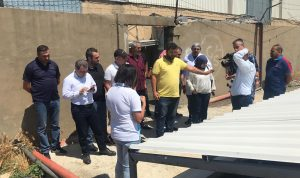 أبو فاعور يطلق حملة للكشف على مصانع الليطاني