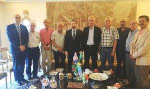 كرامي التقى نقيب أطباء طرابلس الجديد