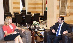 اللاجئون والتوترات الاقليمية بين الحريري وسفيرة سويسرا